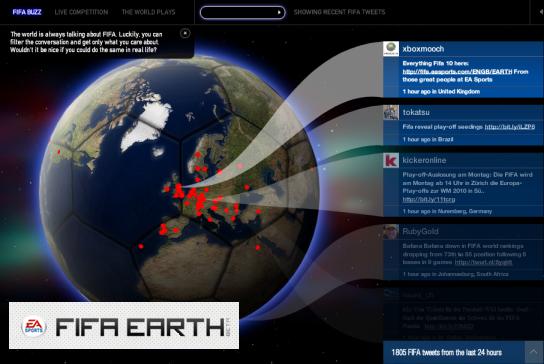FIFA Earth: Football + Twitter | Tech Xav