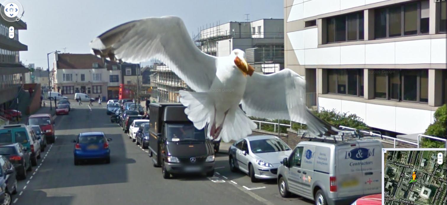 Nejlepší Google StreetView pohled všech dob!