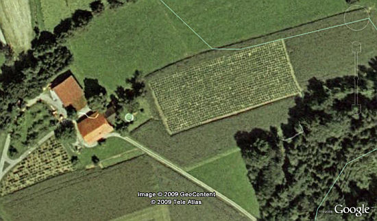Examples Of How Google Maps Has Helped Solve Crimes - Google maps aerial