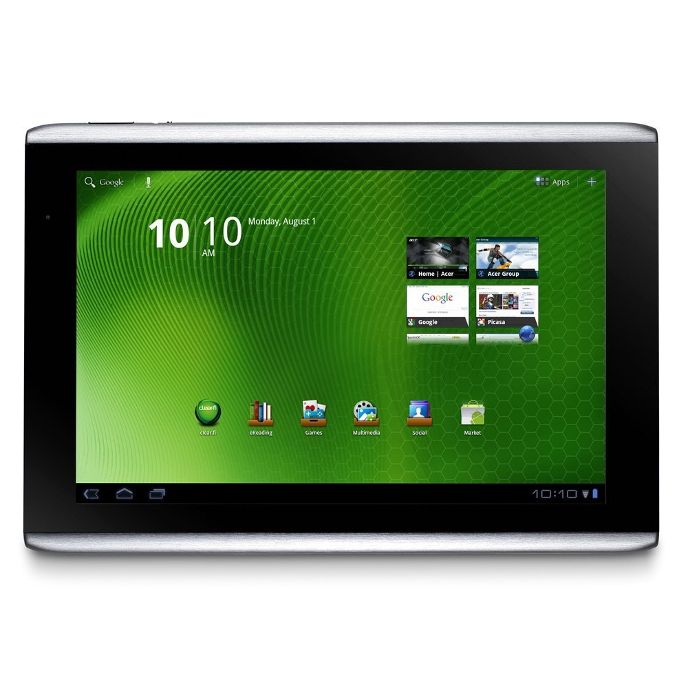 A cool new tablet from Acer has recently been released. The Acer Iconia A500 tab is one of several touch tablets that run on the Android 3.0 Honeycomb operating system...