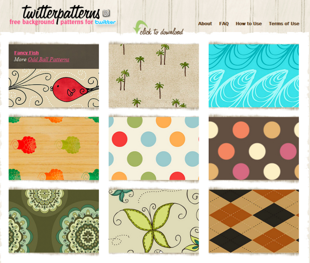 "cool backgrounds for blogs. and TwiTip log by ""Pro"